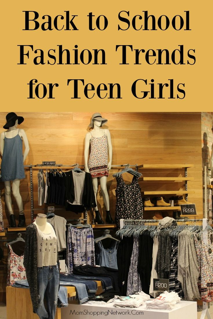 Have no idea what your teen is going to want to wear this year? This post will help, after reading these tips I'm not so clueless!