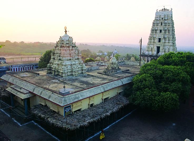 The Dwarka Tirumala temple in West Godavari district.