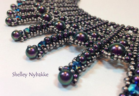 Kisses and Tell Necklace Tutorial  pdf by SturdyGirlDesigns