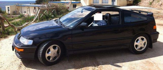 Honda CRX VTEC 290.000km preços usados