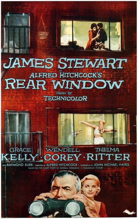 Rear Window -considered to be one of Hitchcock's best.The film received four Academy