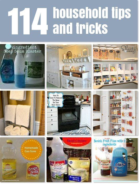 114 household tips and tricks for running an efficient home
