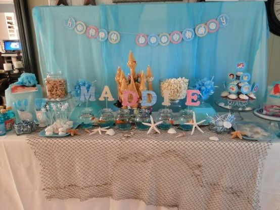 A Little Mermaid themed birthday party??? YES PLEASE!
