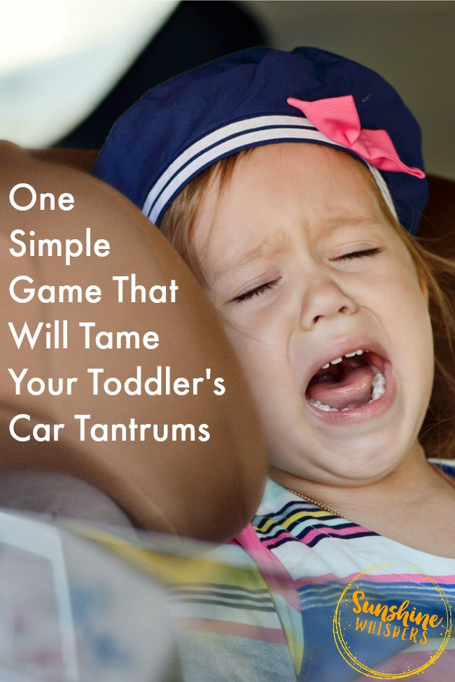 This tip really works. Wow! Try it.. you will be amazed! One Simple Game That Will Tame Toddler Car Tantrums