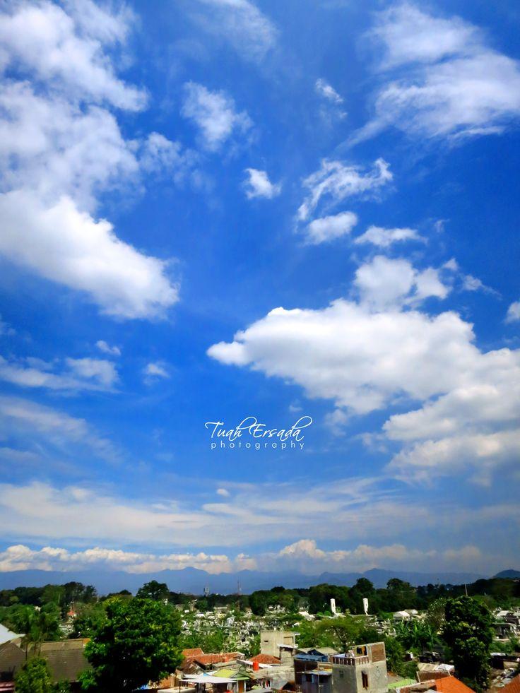 sky, blue, high, photography, landscape, tuah ersada, white