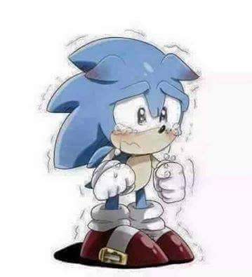 Awwwwwww Don T Cry Sonic Your Right I Ll Be Brave Like My