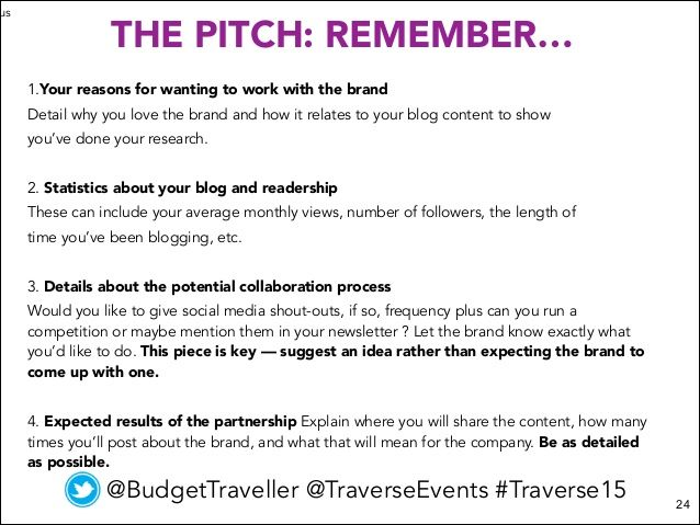 Image Result For Blogger Pitch Email Example Go To New York New