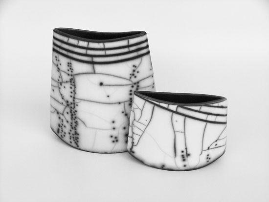 Simcha Even-ChenCeramics Artistry, Ceramics Vessel, Clay Inspiration, Ceramics Raku, Clay Glasses, Naked Raku, Ceramics Porcelain Glasses, Ceramics Ideas, Simcha Evening Chen