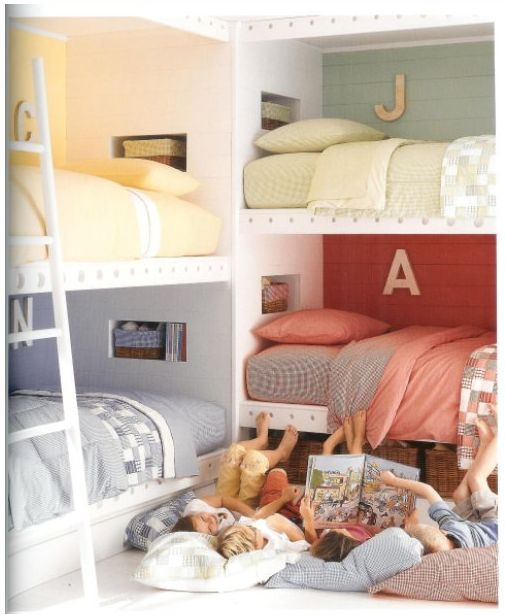 173 Best Images About Bunk Room On Pinterest