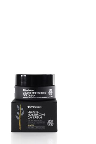 Organic moisturizing day cream for all skin types.   The antioxidants it contains help moisturize and protect the skin while its drastic ingredients effectively nourish and revitalize it.
