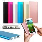 Ultradelgada 20000 mAh Cargador de Batería Externo Portátil Power Bank para Teléfono Celular