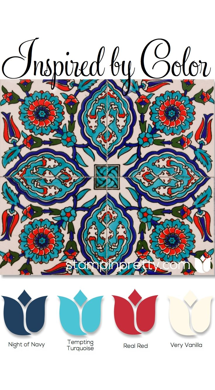 Mixing color is a passion for me on my card making & paper crafting blog, stampinpretty.com.  These beautiful Stampin' Up! color ideas inspire crafts, home decor, fashion & more.