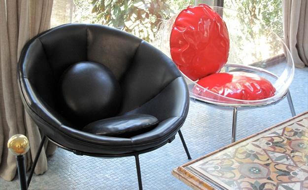 Home   Bardi's Bowl Chair, Lina Bo Bardi - Arper: Arper Dezeen 23, Lina Will, Chairs, Bardi Reissued, Bowls