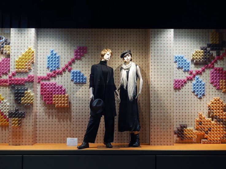 """GINZA CORE, Tokyo, Japan, """"You belong among the wild flowers"""", (Fall/Autumn), pinned by Ton van der Veer"""