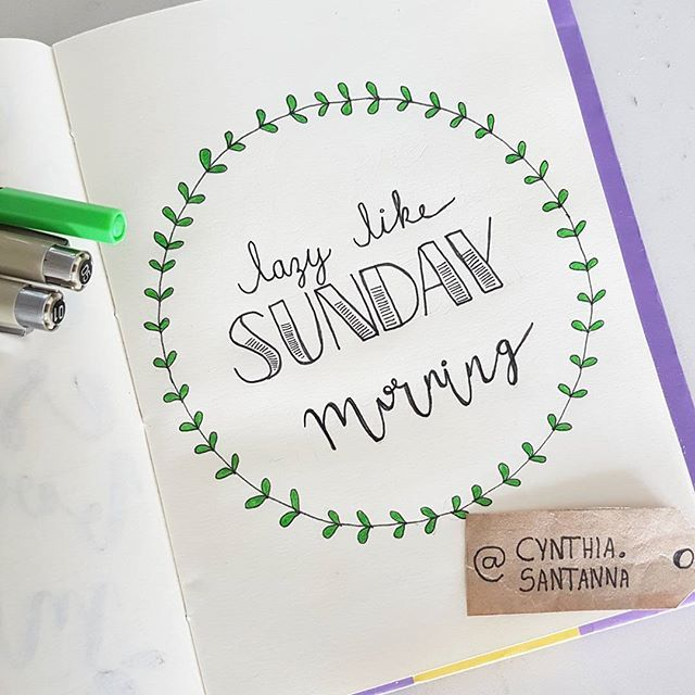 Dia 6 - lazy days, lazy people.... #handlettering #30diasdehandlettering #lazy #learning