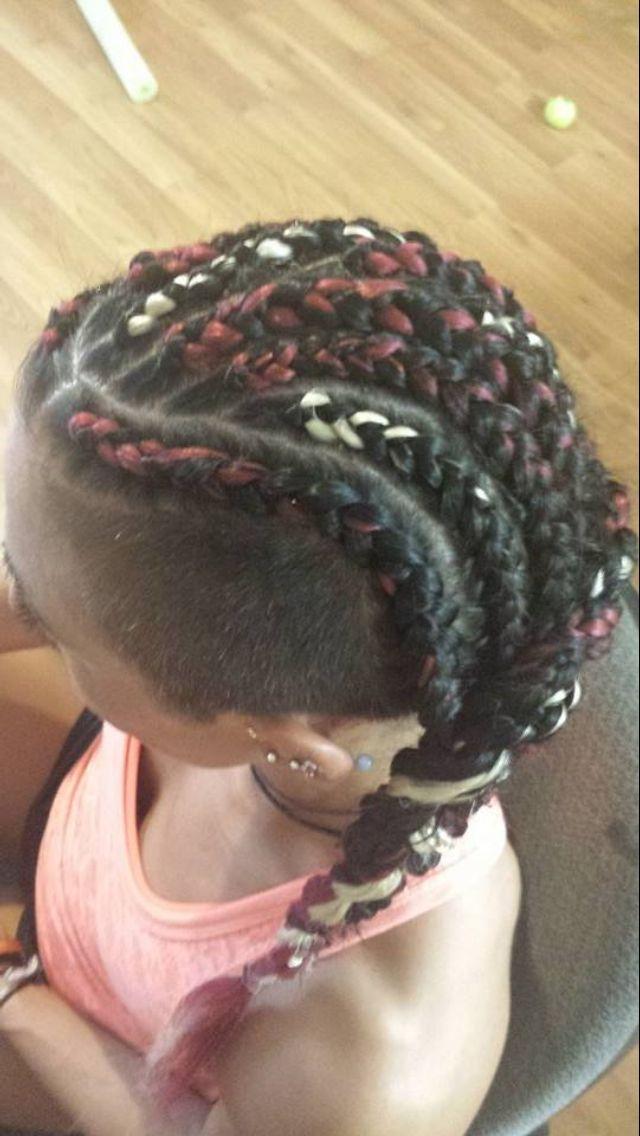 Admirable White Girl Cornrow Braids Multi Colors Braids Hurr And Beauty Short Hairstyles Gunalazisus