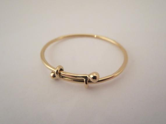 Baby Child Bracelet Jewelry 10k Gold Bangle Expendable Etsy Baby Bangles Gold Baby Bangles Baby Jewelry Gold