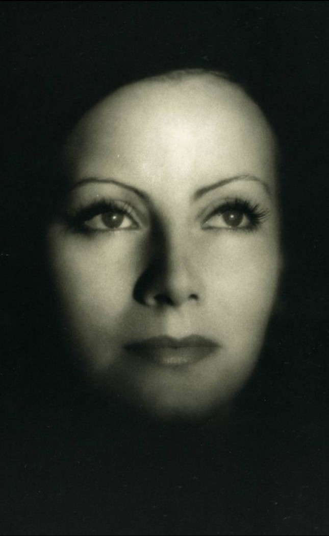 """Greta Garbo, publicity portrait for """"The Kiss"""". Photo by Clarence Sinclair Bull, 1929."""