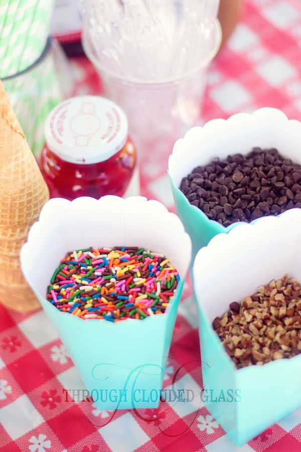 Ice Cream Social Gender Reveal Party With Game Ideas Through