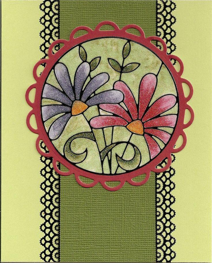 65 best cards by elizabeth craft designs images on for Elizabeth craft designs glitter