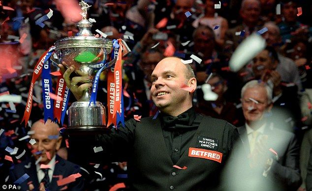 There were tears again. Stuart Bingham wanted to keep his cool but the moment was too powerful, as realisation dawned. Just before 11pm, his life's ambition had come true. The Crucible Theatre had just witnessed one of the best finals in the history of the BetFred World Snooker Championships but, more than anything, they had seen a fairy tale come true, as the 38-year-old from Basildon saw off Shaun Murphy 18-15.