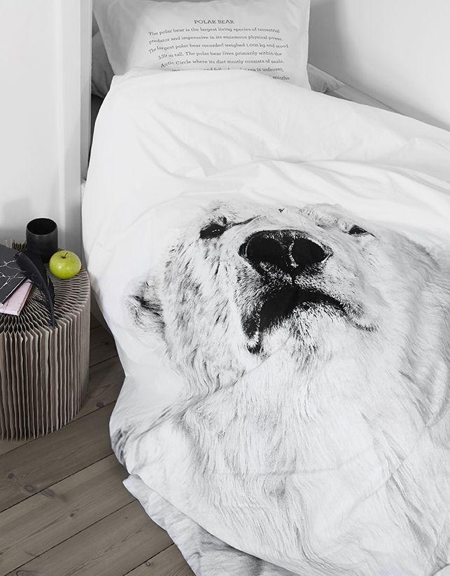 Bettbezug Wolf 240 x 220 cm By Nord