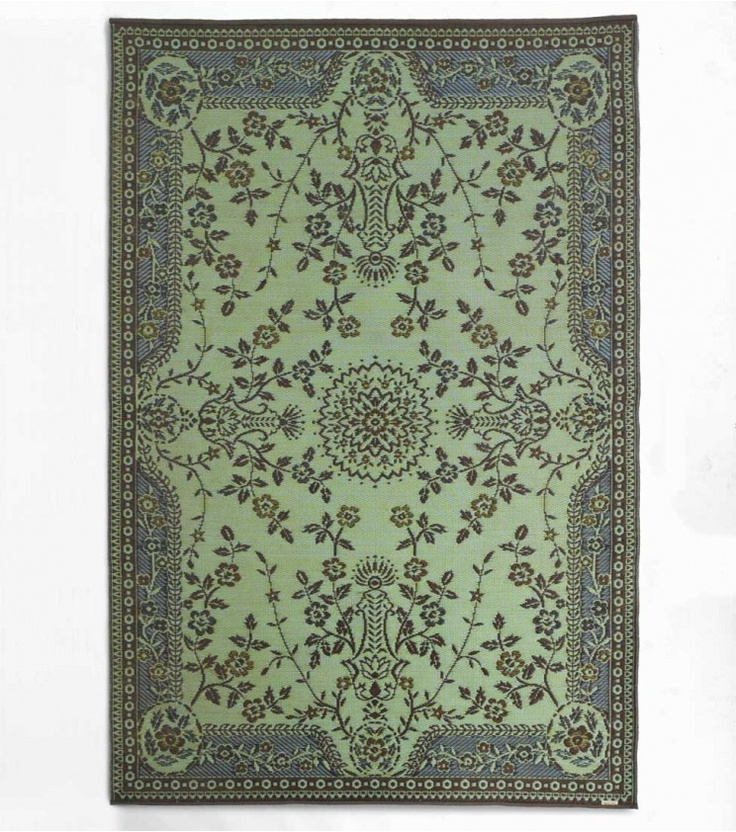 This Reversible Indoor Outdoor Rug From Mad Mats 174 Is Made