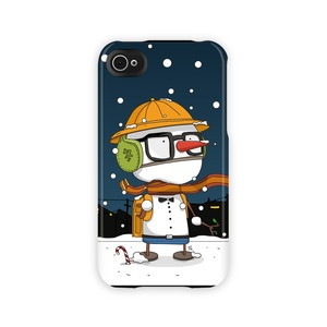 """Snow Boy may be the world's only student who dreads summer vacation. This wonderful wintry iPhone case will protect your device from harm without adding unwanted bulk and weight."" by anissastein  $45.99"