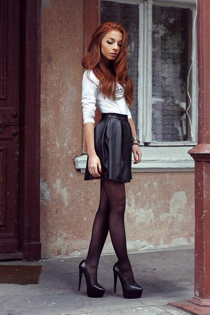 cool Такие разные черные юбки (50 фото) — С чем носить и как сочетать? Читай больше http://avrorra.com/chernye-yubki-foto/