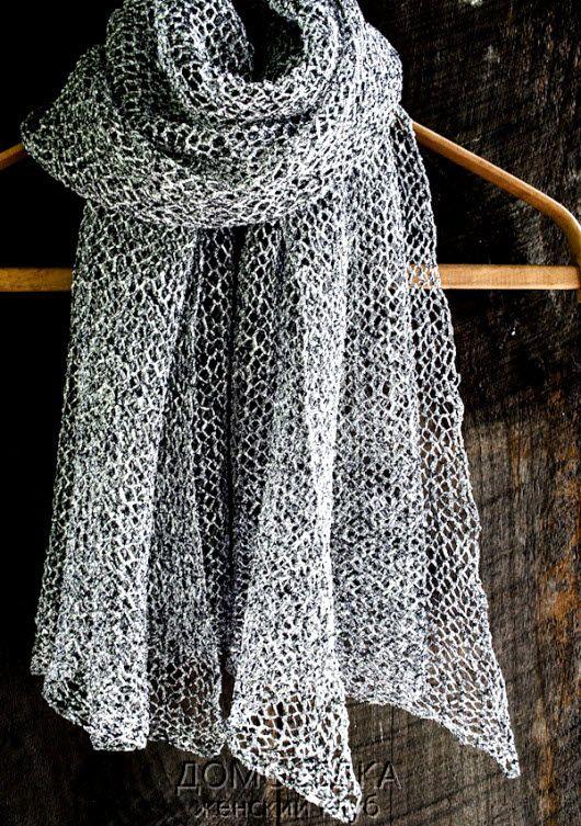 тонкий шарф 1