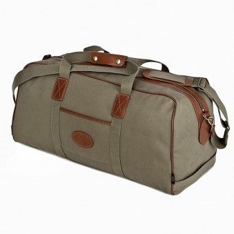 Men's Traveller 24 Canvas Holdall by Chapman Bags