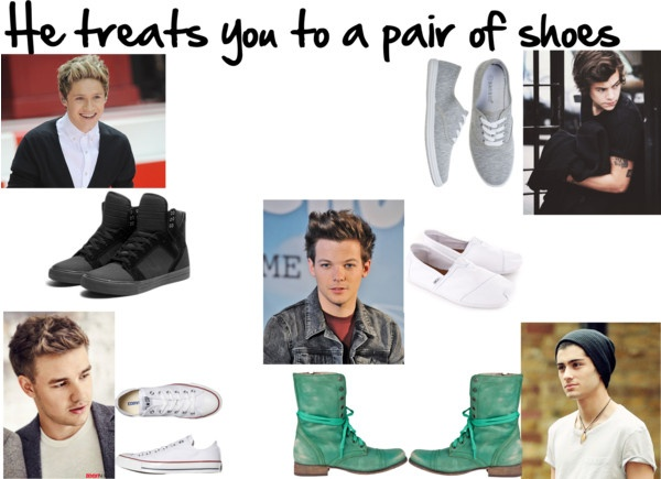 """""""He Treats You To A Pair Of Shoes"""" by kyliecraig ❤ liked on Polyvore"""