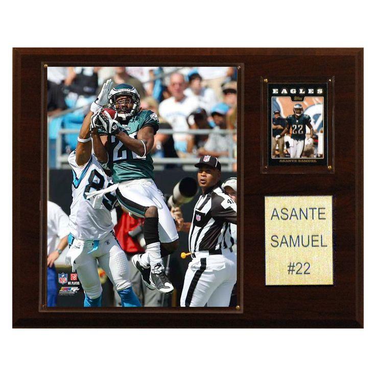 NFL 12 x 15 in. Asante Samuel Philadelphia Eagles Player Plaque - 1215SAMUEL