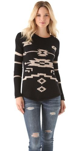 I actually love this sweater. Not usually my style, but this one's pretty cute.