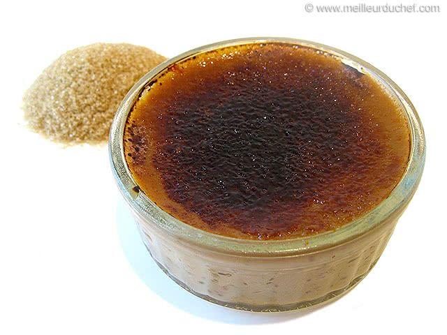 Crème brulée au carambar - Meilleur du Chef