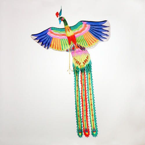 One of my favorite discoveries at WorldMarket.com: Silk Phoenix Kite