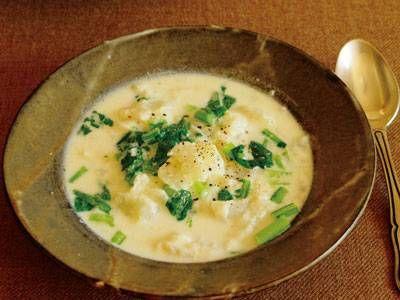 高山 なおみ さんのかぶを使った「かぶのポタージュ」。口の中でホロホロとくずれていくかぶがおいしい、味も食感もやさしいスープです。かぶの甘みが詰まった一品。 NHK「きょうの料理」で放送された料理レシピや献立が満載。