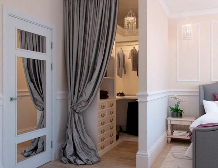 The 25+ best Dressing avec rideau ideas on Pinterest | Décoration ...