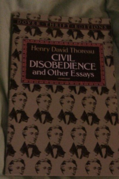 best henry david thoreau images henry david  paperback civil disobedience and other essays by henry david thoreau