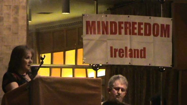 Mary Maddock speaks at the Robert Whitaker conference in Cork