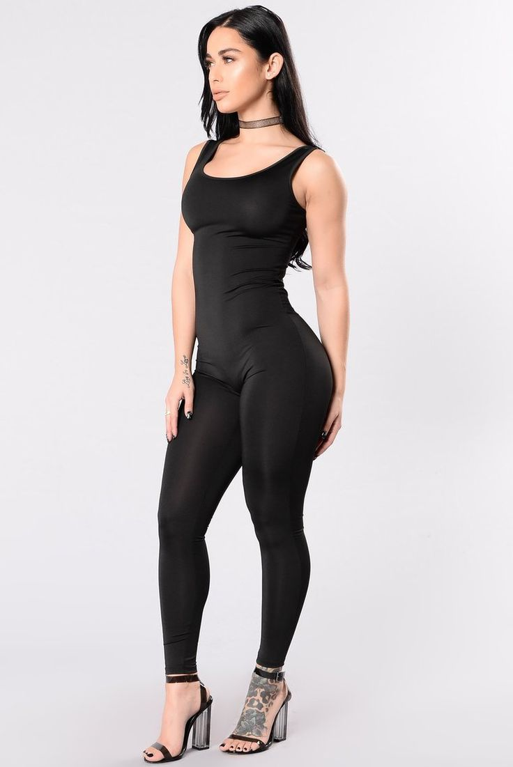 Nova Boost Jumpsuit Black in 2020 Catsuit outfit