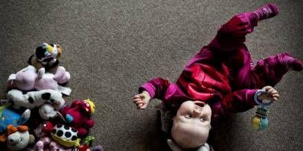 Tilknytning. Gråd er naturligt og selvfølgelig ikke farligt, siger psykologen. Arkivfoto. Foto: LINE ØRNES SØNDERGAARD