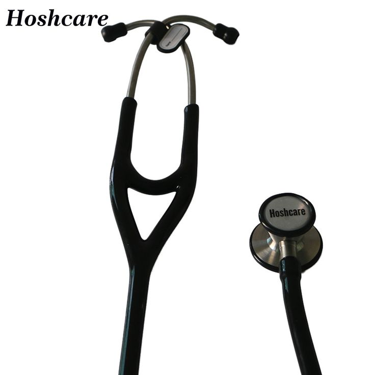 Free shipping High quality Hoshcare Stainless Cardiology Stethoskop Medical Clinic Hospital Professional Stethoscope