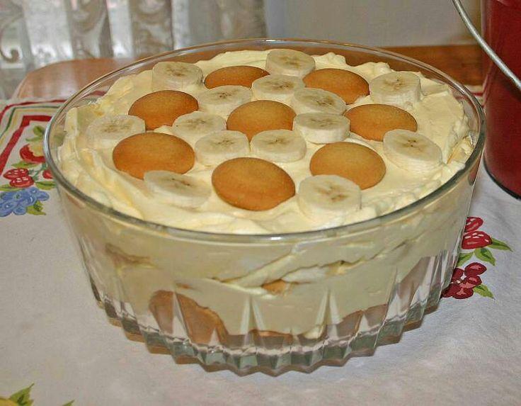 Homemade Banana Pudding 105