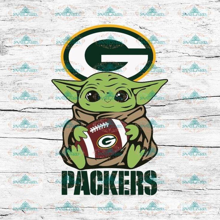 Baby Yoda Star Wars, Green Bay Packers Svg, NFL Svg