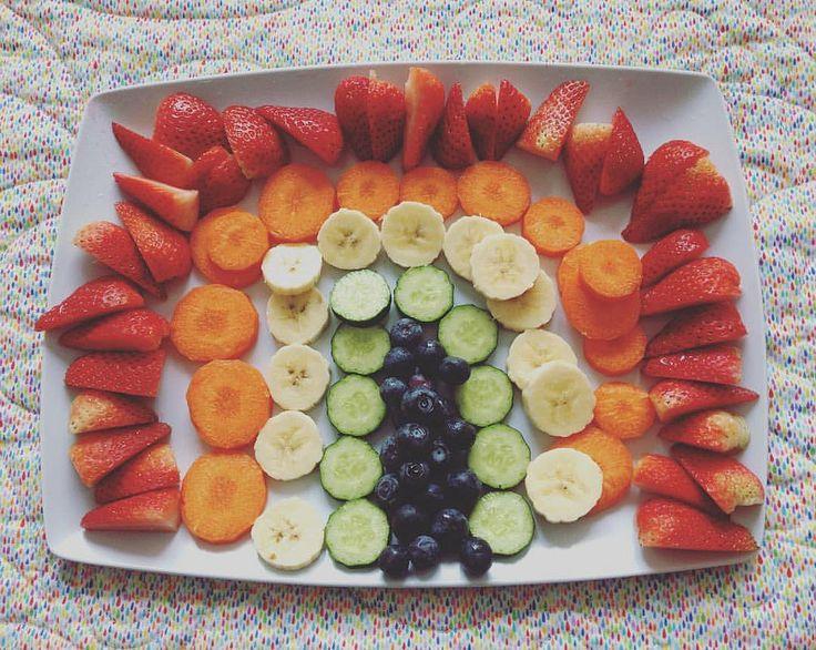 I can eat a rainbow, eat a rainbow, eat a rainbow too