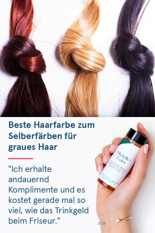 """Die einfache Lösung, graues Haar zu färben: """"Ich liebe es … es hat mir eine …"""