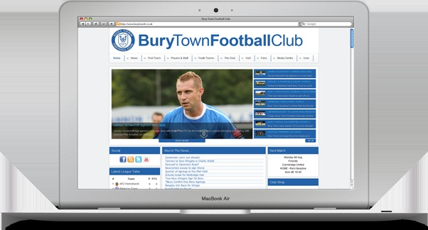 Bury Town FC are a semi-professional football team playing in Bury St Edmunds, in Suffolk. They are one of the leading teams in the area, and currently play in the Ryman Premier Division, only one promotion away from the Football Conference.