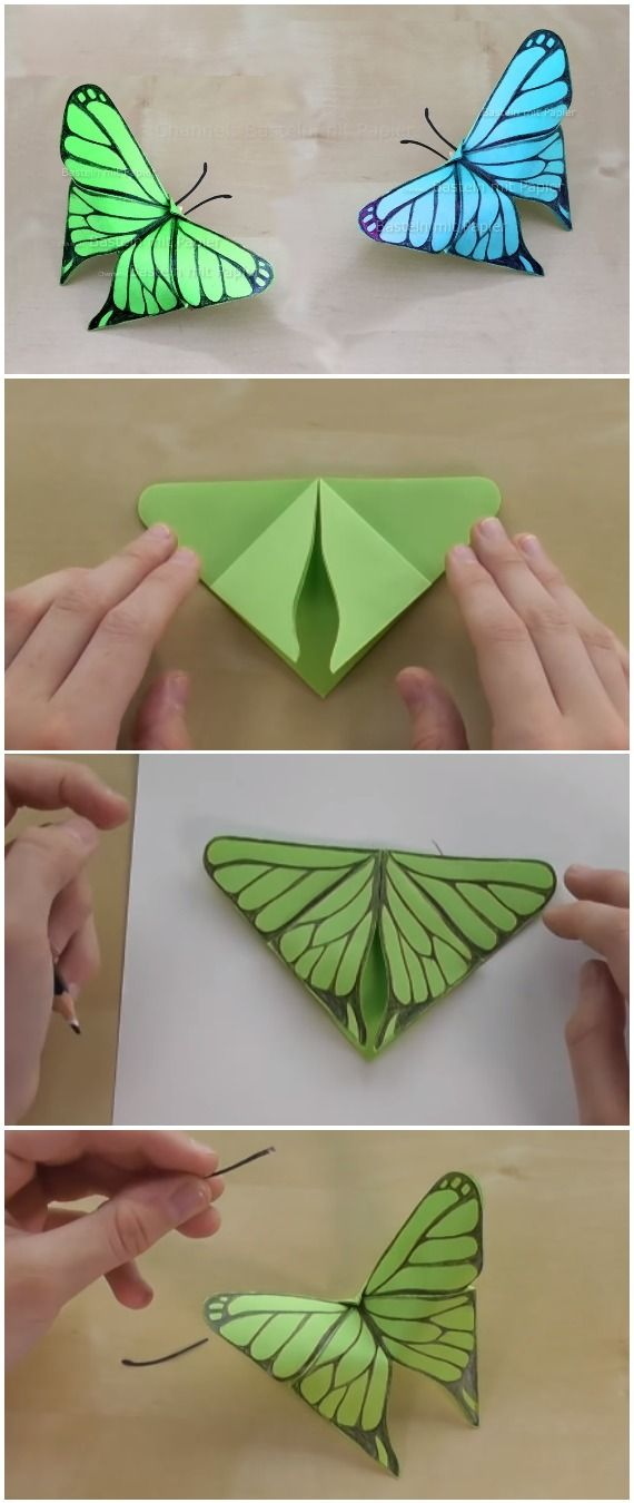 How to Make a folded-paper butterfly ball with origami « Origami ... | 1350x570