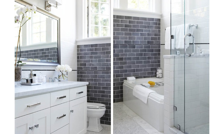 Love The Grey Subway Tile Bathrooms PinPoint